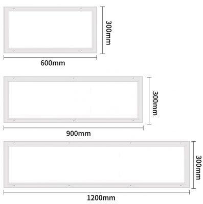 Led panel light size VCR