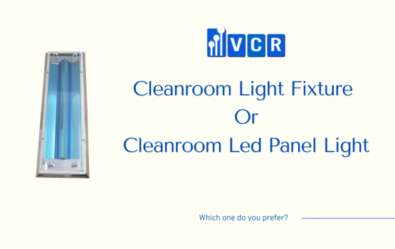 Do you prefer clean room led panel light to clean room light fixtures with bulbs?