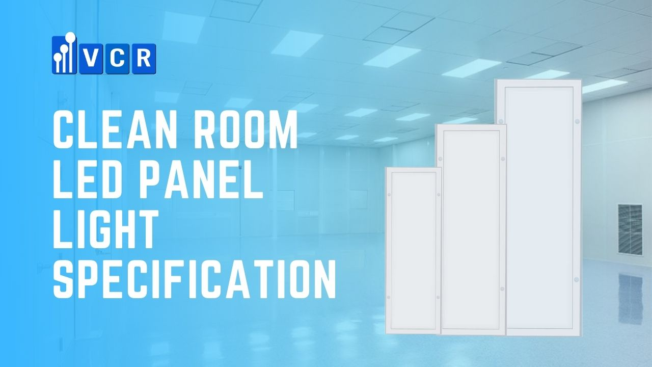 clean room led panel light specification